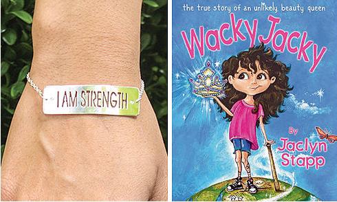 Wacky Jacky Book & CHARM Rubber Bracelet